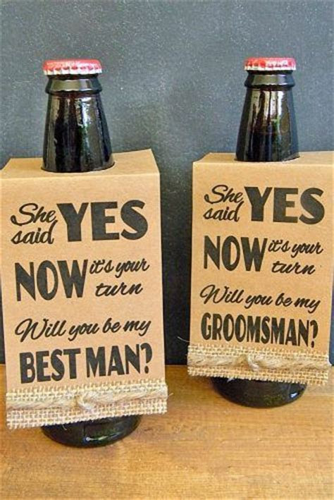 "18 Groomsmen Proposal Ideas ""Will You Be My Groomsman"
