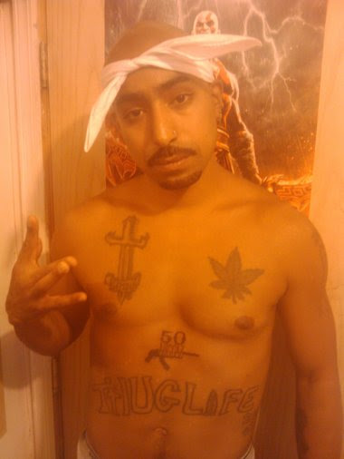 Image result for 2pac look alike