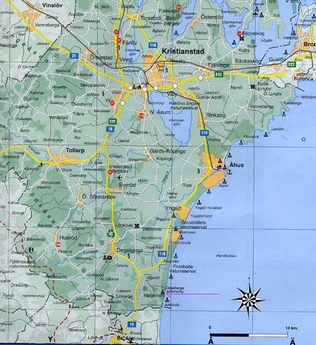 koordinater karta Jämför försäkringar: Karta med koordinater