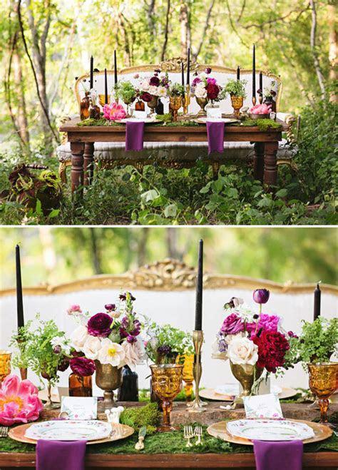 40 Stunning Woodland & Forest Wedding Reception Ideas