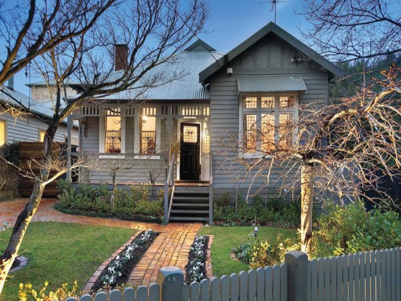 Corrugated iron edwardian house