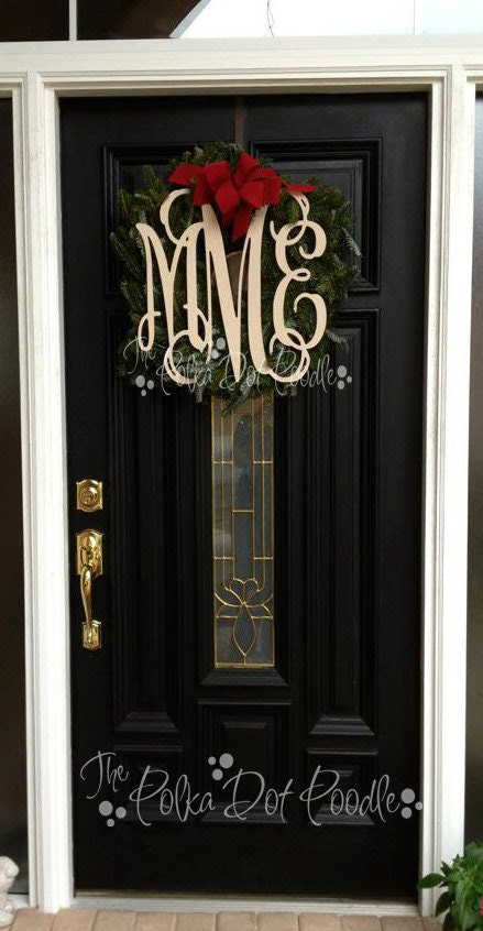 Popular items for wooden monograms on Etsy