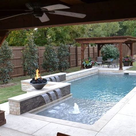 awesome small pool design  home backyard  hoommycom
