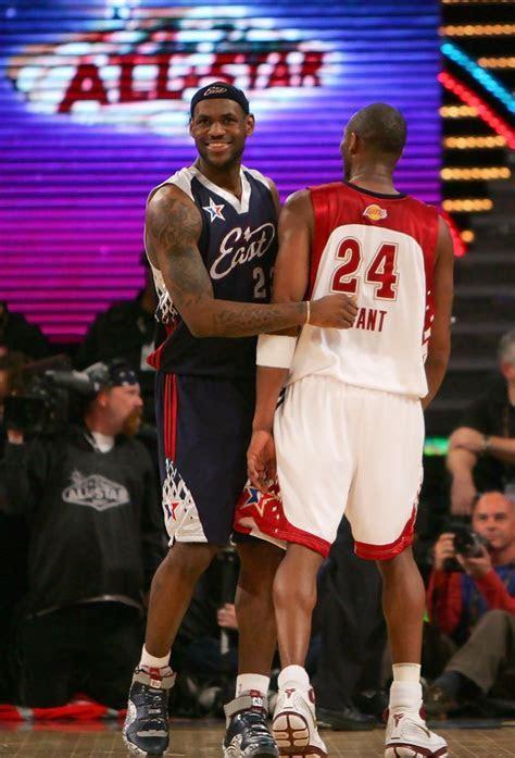 Kobe Bryant and LeBron James Photos   2007 NBA All Star