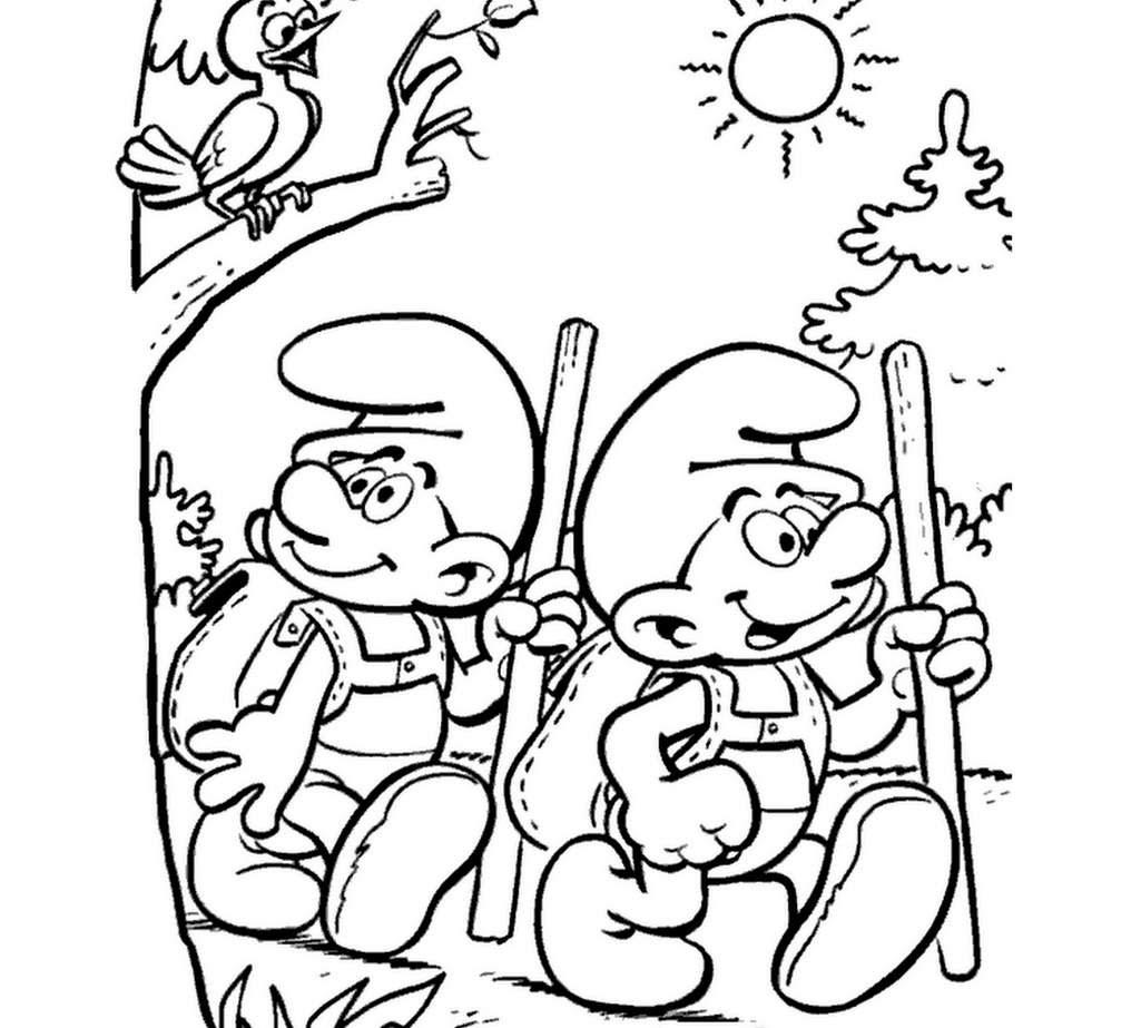 blog des coloriages de films schtroumf dessins  colorier pour les fªtes chtroumpf coloriages sur la nature et les animaux etc Des jeux de coloriages