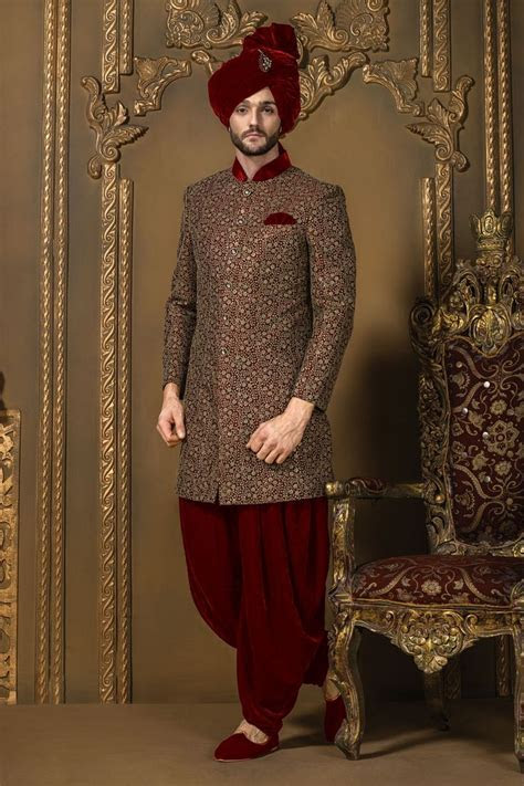 Latest Sherwani Designs & Styles 2018 For Groom In