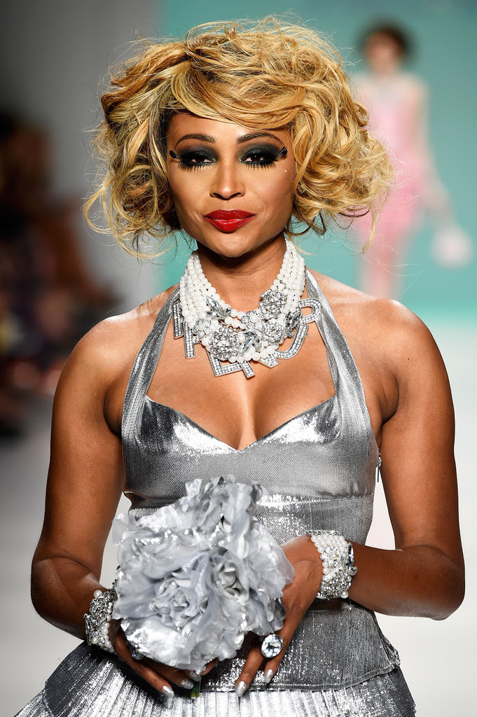 Cynthia Bailey Photos - Betsey Johnson - Runway - Mercedes ...