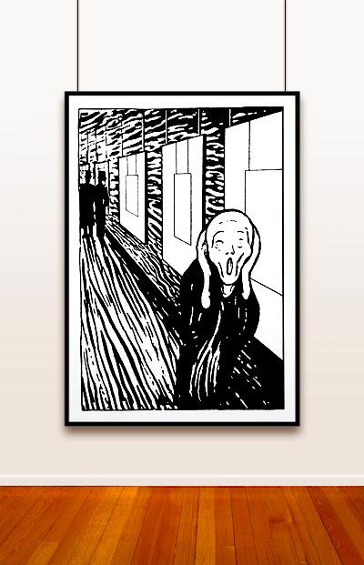 The Scream ad <span class=