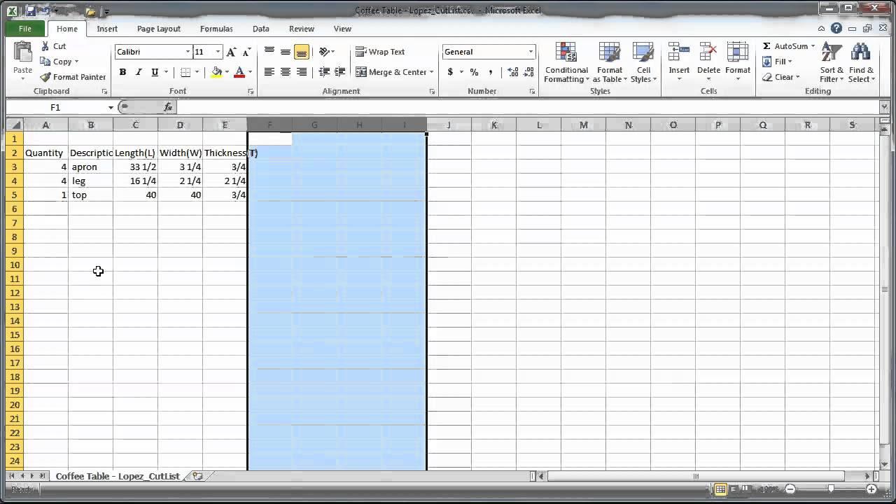 Tutorial - SketchUp CutList Plugin to Excel - YouTube