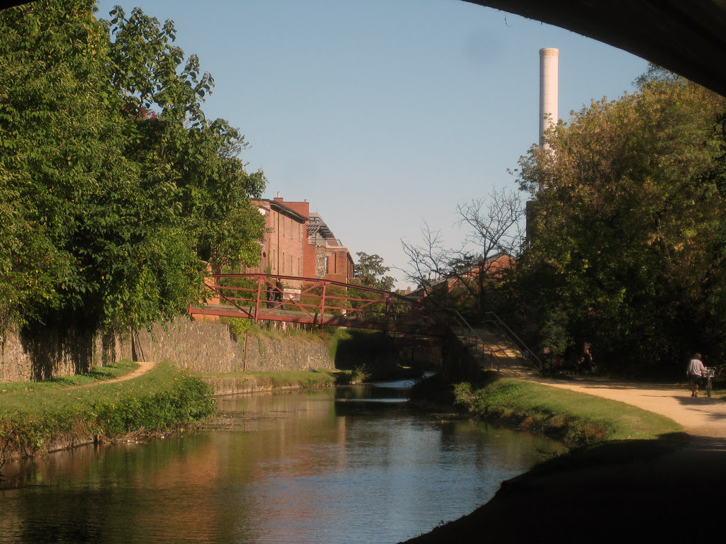 walked along the canal today.