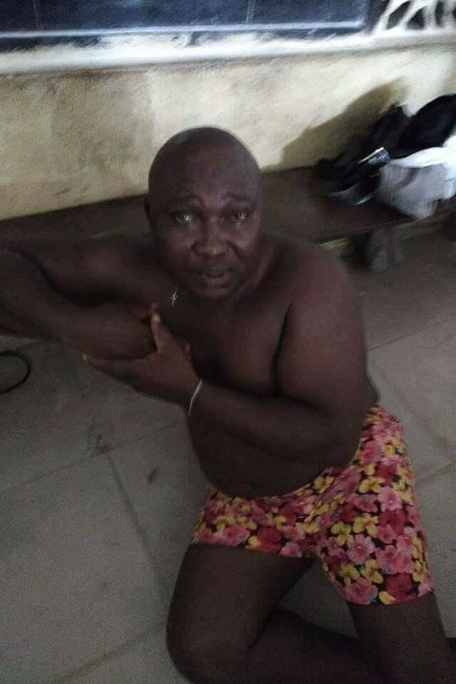 Kidnapper 'Abuja Daddy' Apprehended In Bayelsa Along With A Lady (Photos)