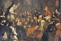 S. Caterina esorta Gregorio XI a tornare a Roma