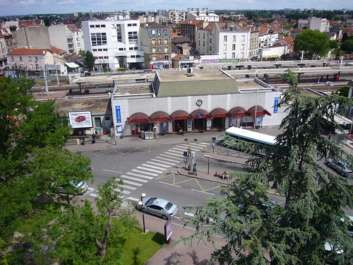 La gare d'Aulnay