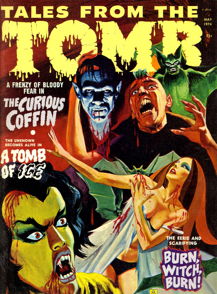 Tales From the Tomb - Vol.6 #3 (Eerie Publications, 1974)