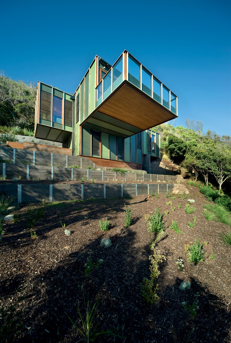 Casa en Separation Creek - Jackson Clements Burrows, arquitectura, Casas, Interiores
