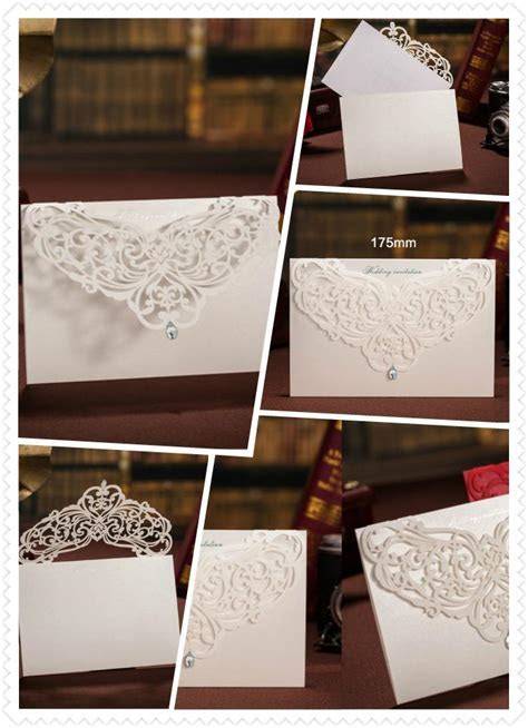 Hot Wholesale Personalized Wedding Invitation Cards Red