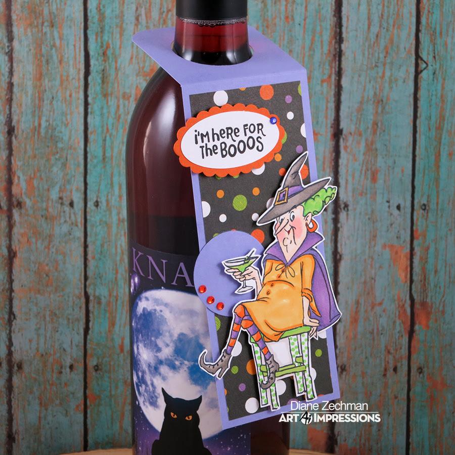old bat wine tag 2 diane zechman