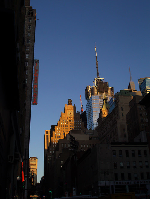sunset, 44th Street