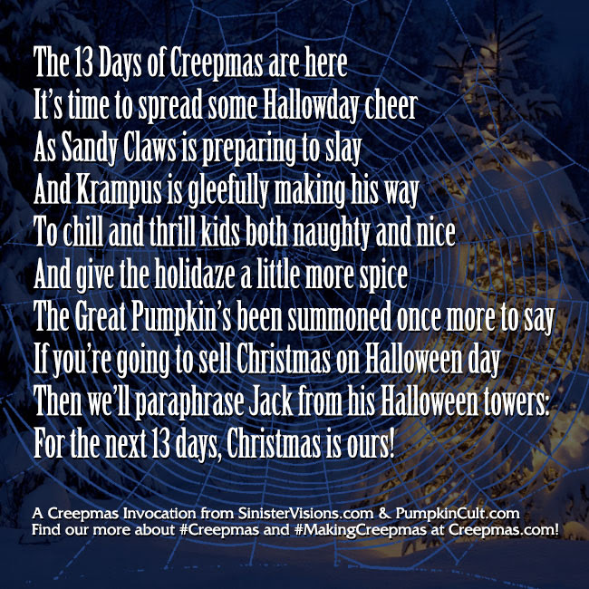 A Creepmas Invocation