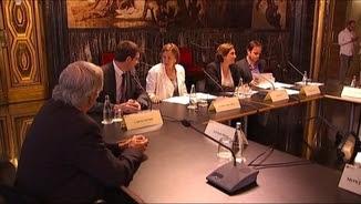 Reunió entre l'Ajuntament de Barcelona, el govern, el Parlament i entitats