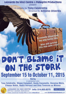 Don't Blame it on the Stork