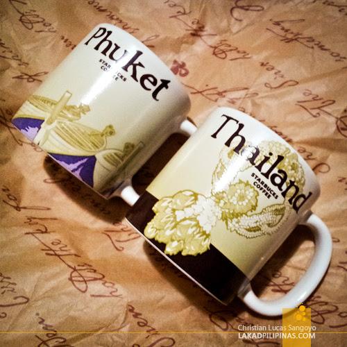 Starbucks Mug Souvenirs from Phuket, Thailand