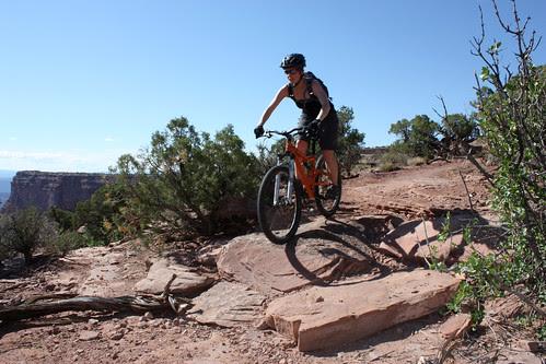 Mountain Biking in Dead Horse Point State Park