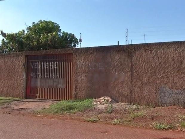 Milena Barbosa de Melo e Antônio Vidal da Silva foram encontrados mortos e queimados, em Águas Lindas de Goiás (Foto: Reprodução/TV Anhanguera)