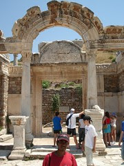 Temple Of Hadrian, Di Dlm Ephesus, Selcuk, Turkey