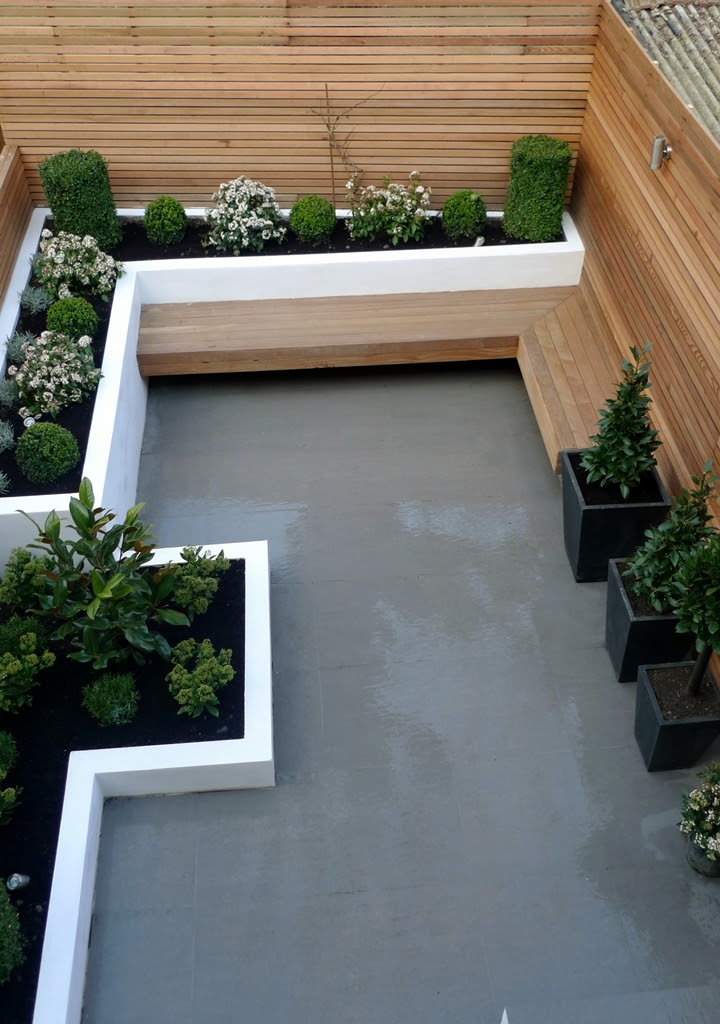 Modern London Small Garden Design | London Garden Blog