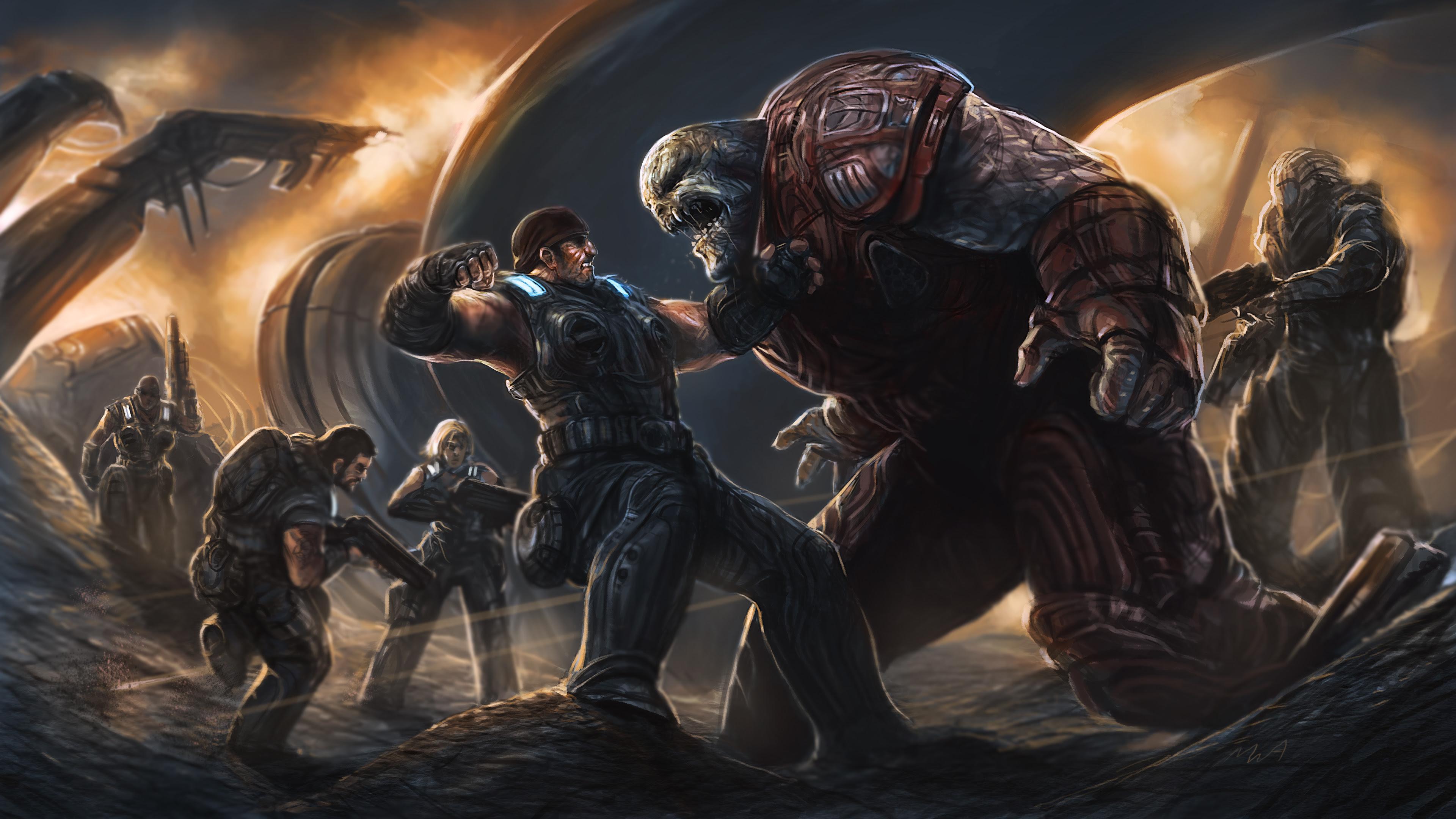 Gears Of War Wallpaper 3840x2160 38586