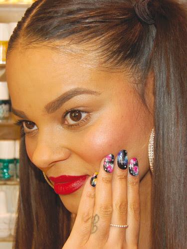 WAH nail art tutorial :: Galaxy nail art design step-by-step