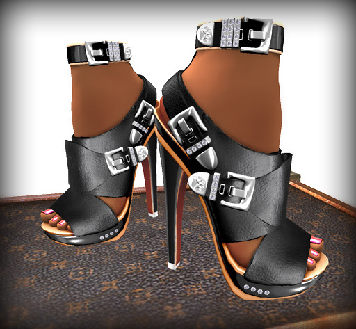 New!  Amara Heels By Purrfect 10