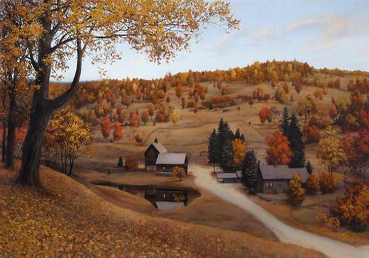 pinturas evgeny lushpin