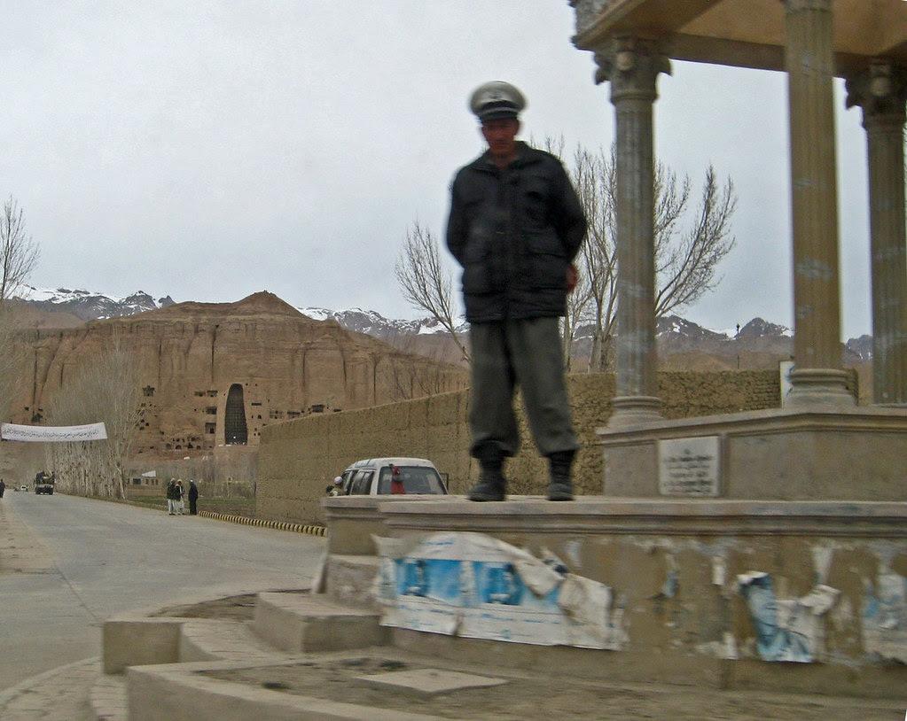 ANP guard in Bamian
