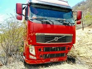 Motorista admitiu que cochilou momentos antes do acidente na BR-226 (Foto: Divulgação/Polícia Militar do RN)