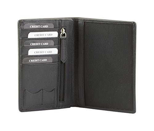 be7d859aa5 If you are looking for a product RFID Blocking Executive Genuine Leather  Travel Wallet Biometric Passport Credit Card Document Holder (KUK-83NBL)  then I ...