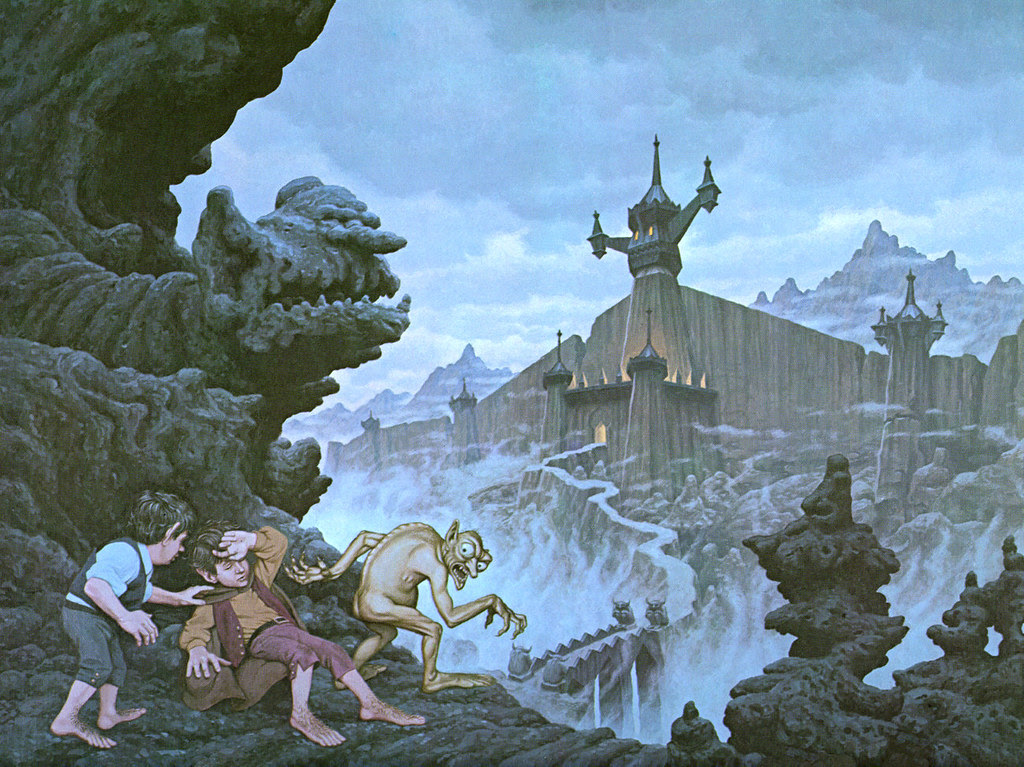 Tim and Greg Hildebrandt - City of the Ringwraiths, Lord Of The Rings