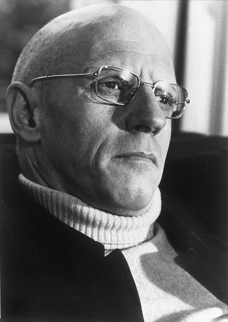 Michel Foucault à Paris.
