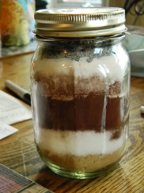 Fudgy Brownie Mix in a Jar