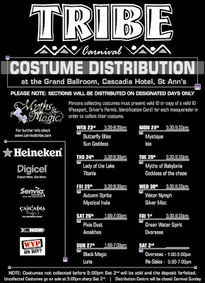 Tribe Carnival Band - Costume Distribution