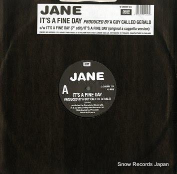 JANE it's a fine day