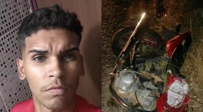 Jovem morre após acidente de moto em Desterro