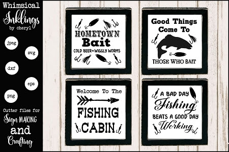 Download All About Fishing Svg Set