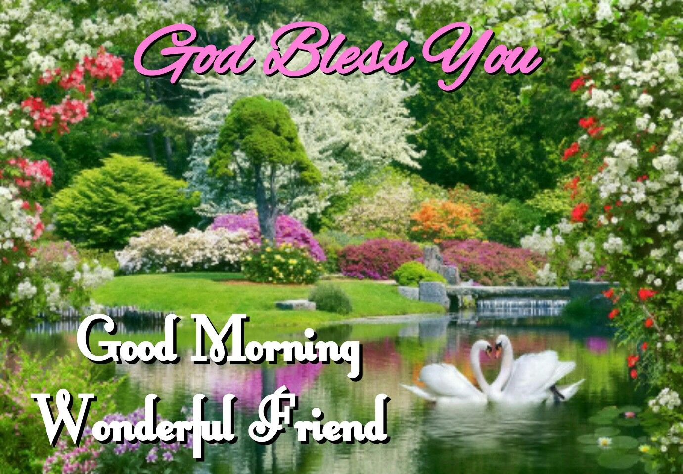 God Bless You Good Morning Wonderful Friend Pictures Photos And