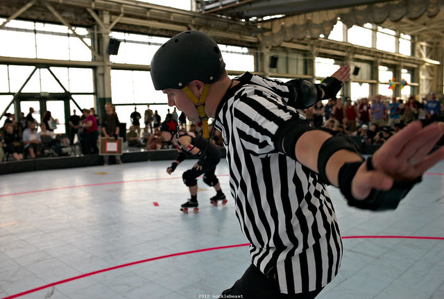 not the lead jammer