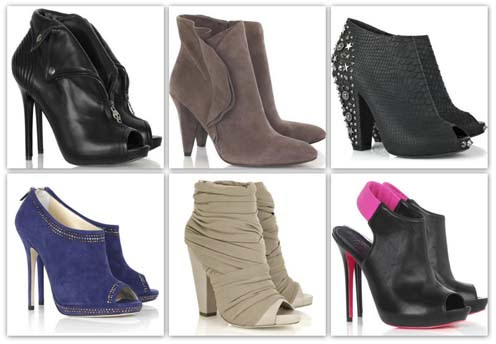 modelos ankle boots Ankle boots para o inverno 2010
