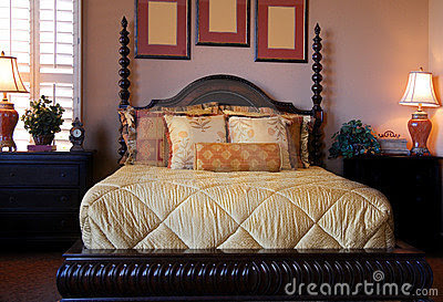 ... Free Stock Photo: Beautiful showcase bedroom interi