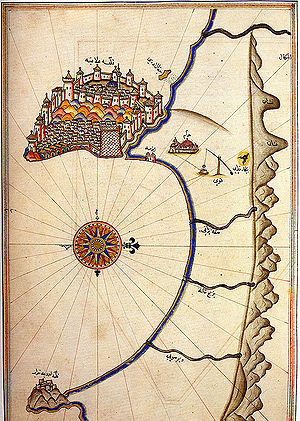 Alanya in Turkey on the Kitab-ı Bahriye (Book ...