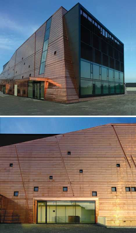 copper-clad Schloss Grafenegg Concert Hall